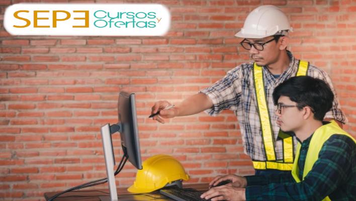 Realiza el curso de edificación que ofrece el SEPE 2